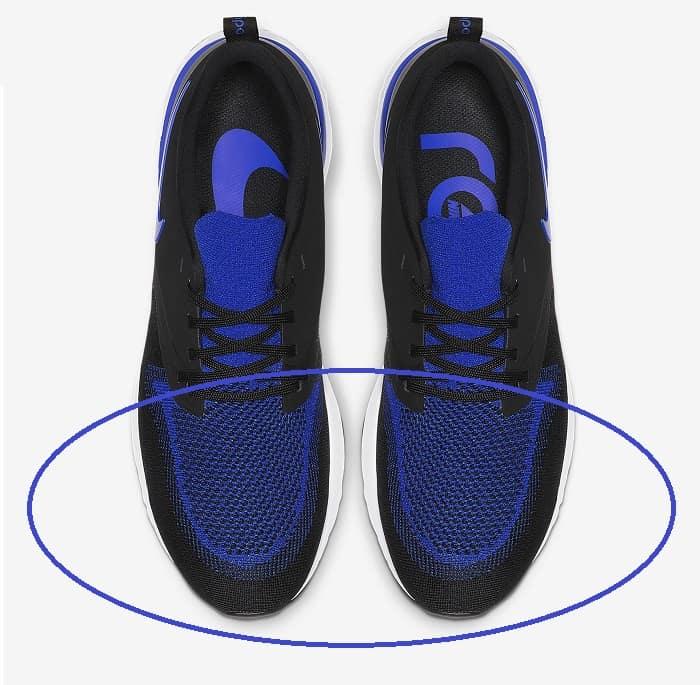 Shoes toe box